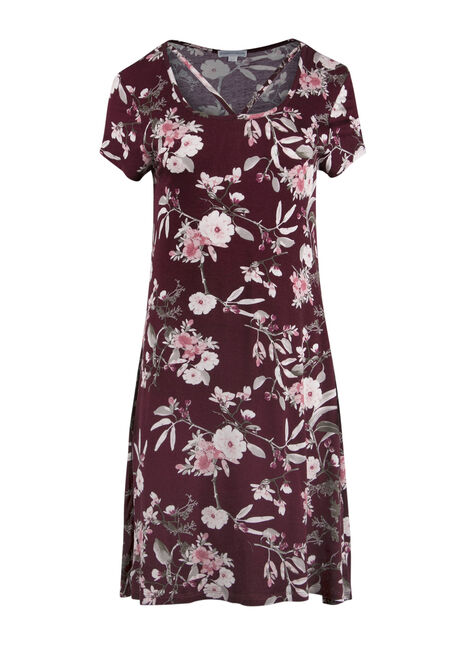 Ladies' Floral A-Line Dress