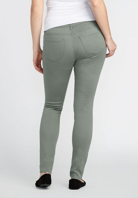 Ladies' Skinny Super Stretch Pant, OLIVE, hi-res