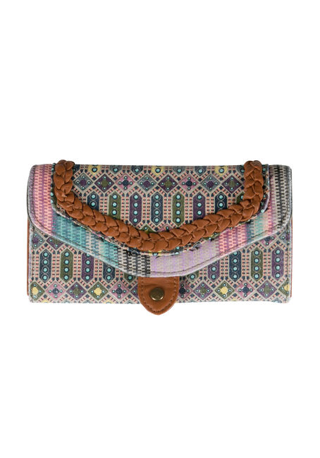 Ladies' Twin Print Wallet