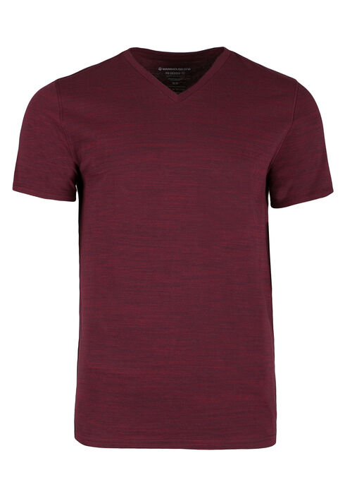 Men's Everyday V-neck Tee, RED, hi-res