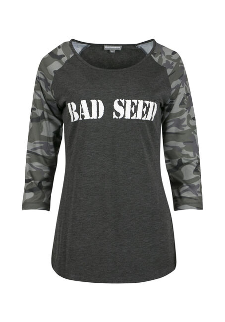 Ladies' Bad Seed Baseball Tee