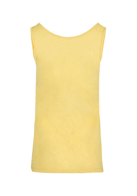 Ladies' Scoop Neck Tank, SUNSHINE, hi-res