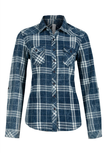 Ladies' Plaid Shirt