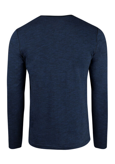 Men's Everyday Y-Neck Tee, ROYAL BLUE, hi-res