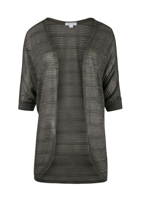 Ladies' Cocoon Cardigan, OLIVE MARL, hi-res