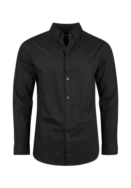 Men's Comfort Stretch Flocked Shirt
