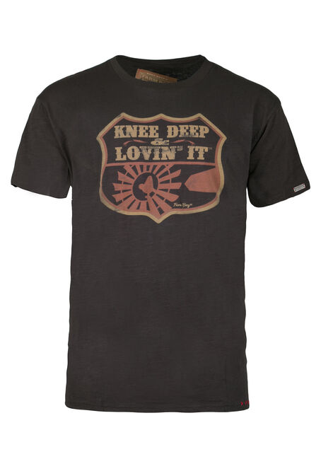 Men's Knee Deep Tee