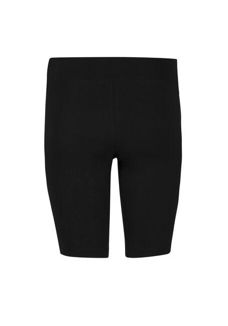 Ladies' Wide Waist Bermuda Short, BLACK, hi-res