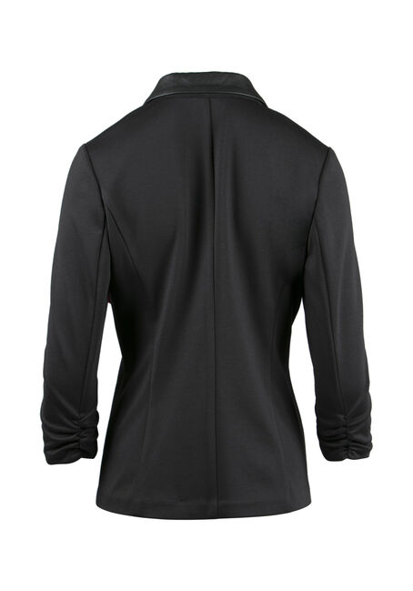 Ladies' Classic Blazer, BLACK, hi-res