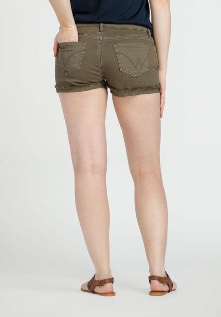 Ladies' Not-So-Short Short, OLIVE, hi-res