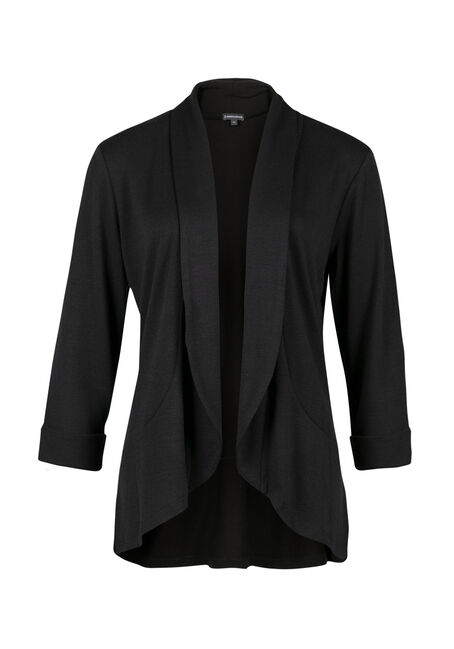 Ladies' Knit Open Blazer