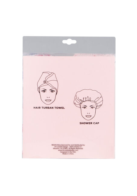 Ladies' Shower Power Set, PALE PINK, hi-res