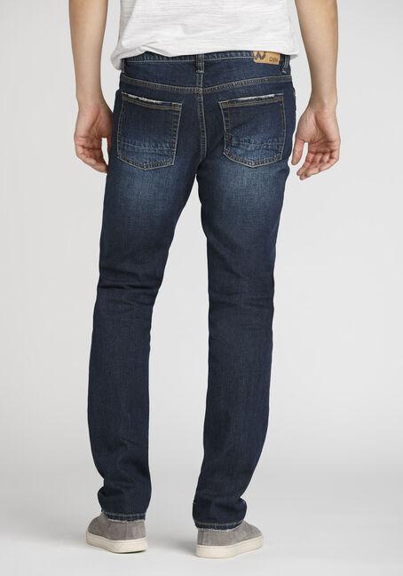Men's Skinny Jeans, DARK VINTAGE WASH, hi-res