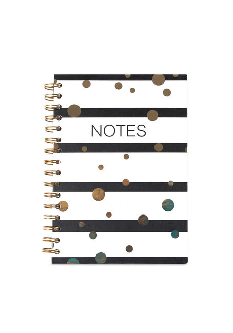 Stripes & Dots Notebook