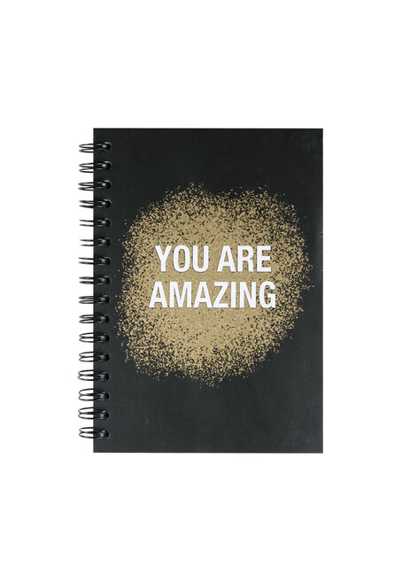 You Are Amazing Notebook, GOLD, hi-res