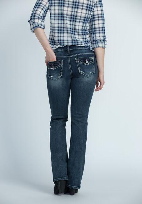 Ladies' Contour Boot Jeans, DARK VINTAGE WASH, hi-res
