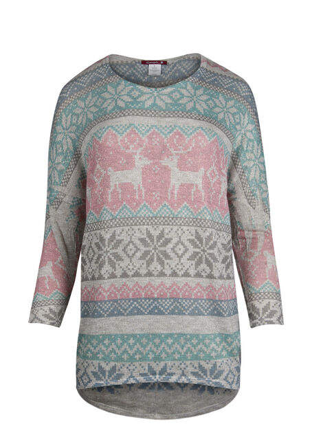 Ladies' Fair Isle Top
