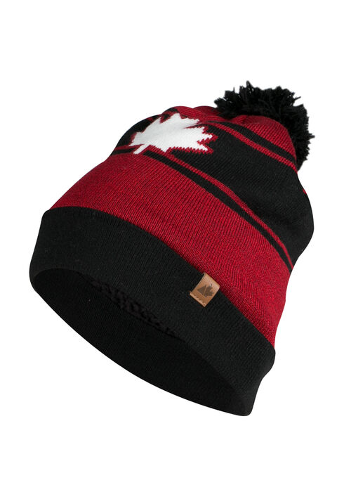 Men's Canada Toque, BLACK, hi-res