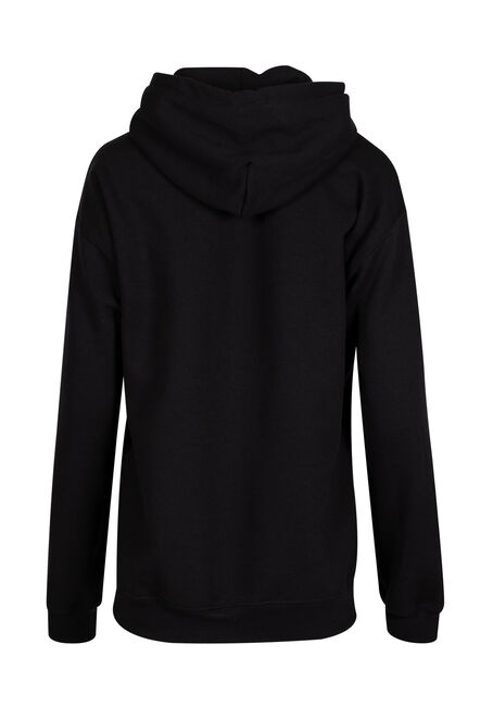 Ladies' Official Bonfire Hoodie, BLACK, hi-res