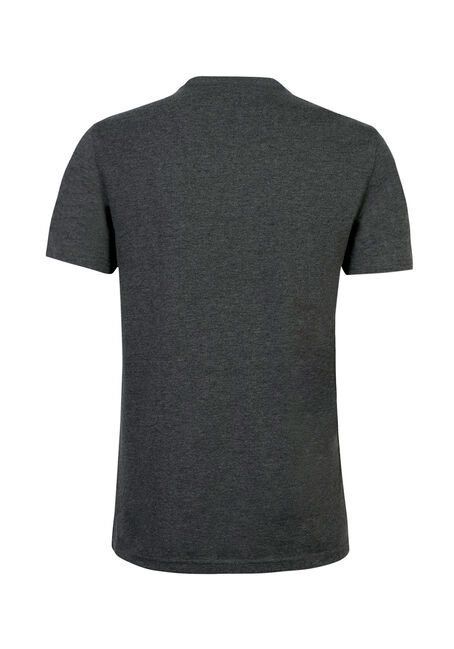 Men's Atlantic Born Tee, CHARCOAL, hi-res