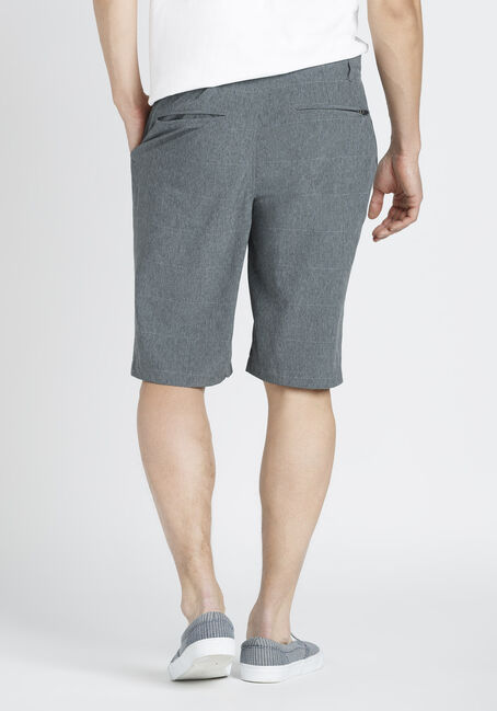 Men's Hybrid Short, GREY, hi-res
