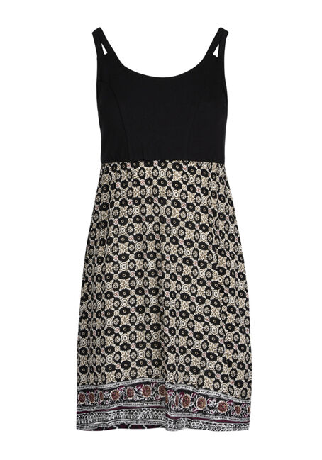 Ladies' Geo Print Dress