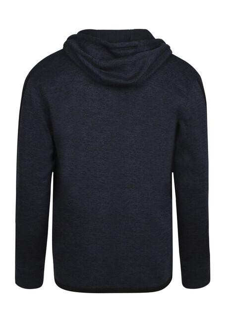 Men's Sleeve Stripe Hoodie, GRAPHITE, hi-res