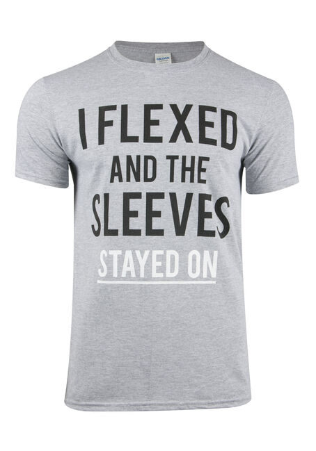 Men's Sleeves Stayed On Tee