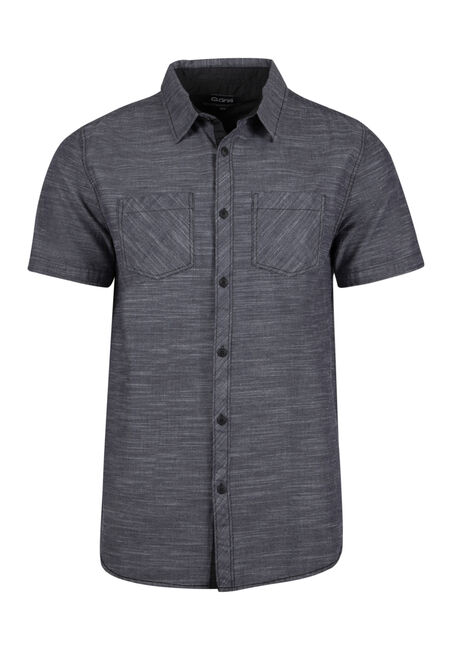 Men's Relaxed Space Dye Shirt