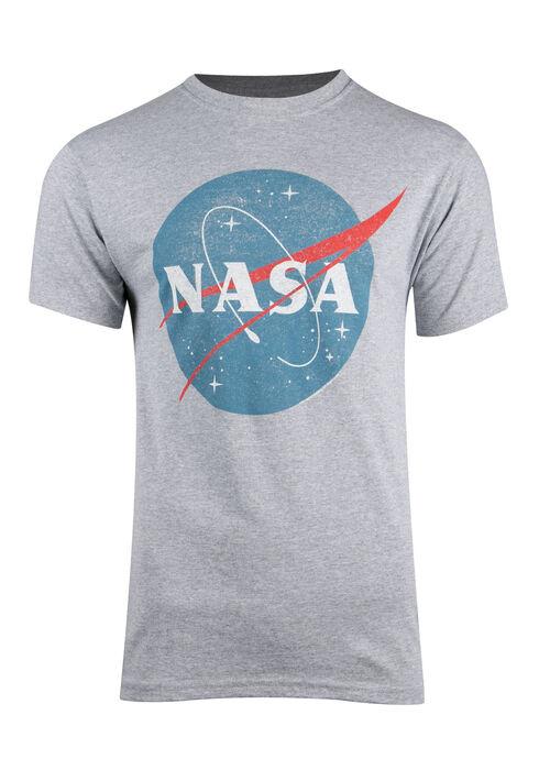 Men's NASA Tee, HEATHER GREY, hi-res