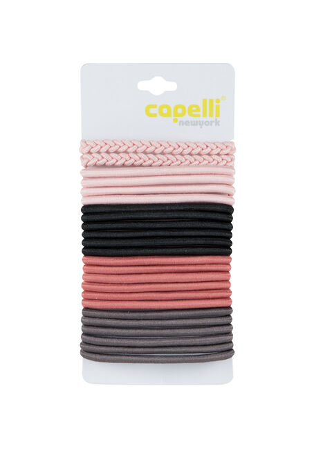 Ladies' 24 Piece Hair Elastics