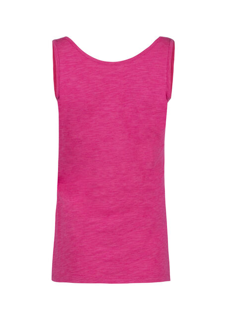 Ladies' Scoop Neck Tank, RASPBERRY, hi-res