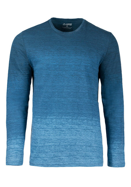 Men's Printed Ombre Tee, BLUE, hi-res