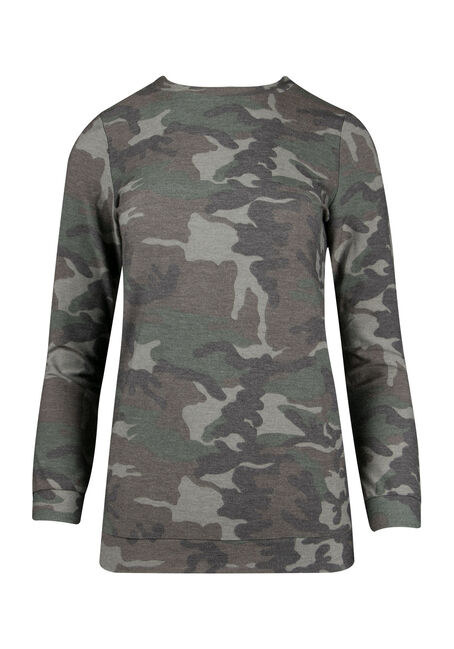 Ladies' Camo Print Top
