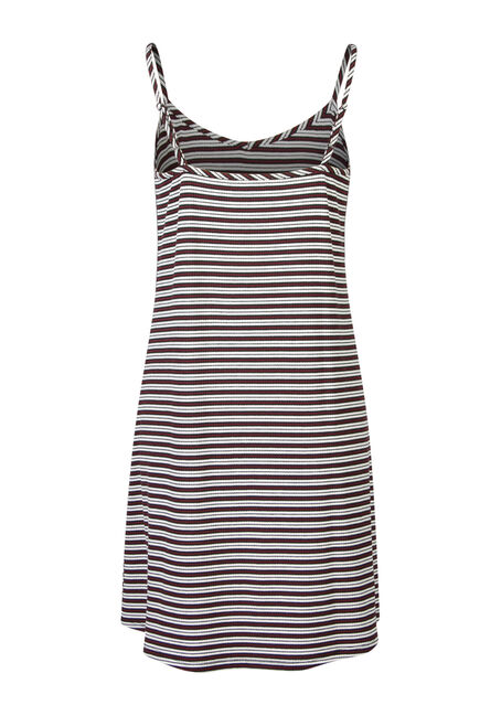 Ladies' Stripe Slip Dress, MULTI, hi-res