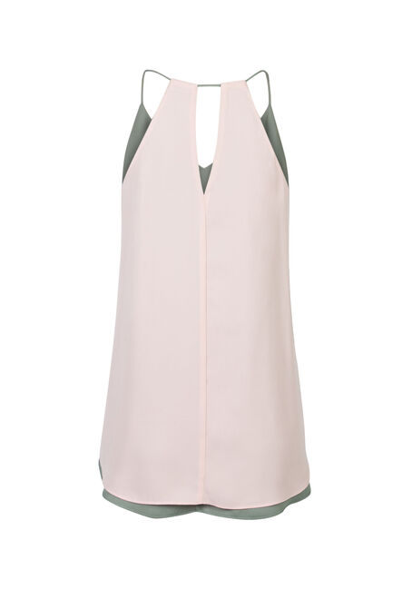 Ladies' Reversible Tank, PEONY, hi-res