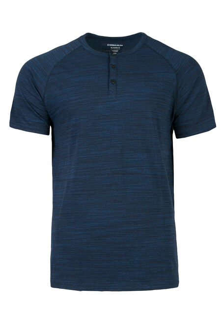 Men's Everyday Henley Tee, ROYAL BLUE, hi-res