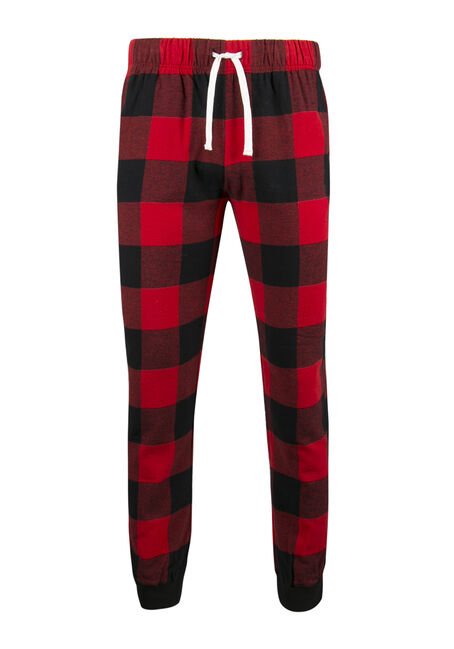 Men's Buffalo Plaid Jogger