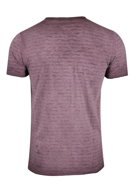 Men's Vintage V-neck Tee, RAISIN, hi-res