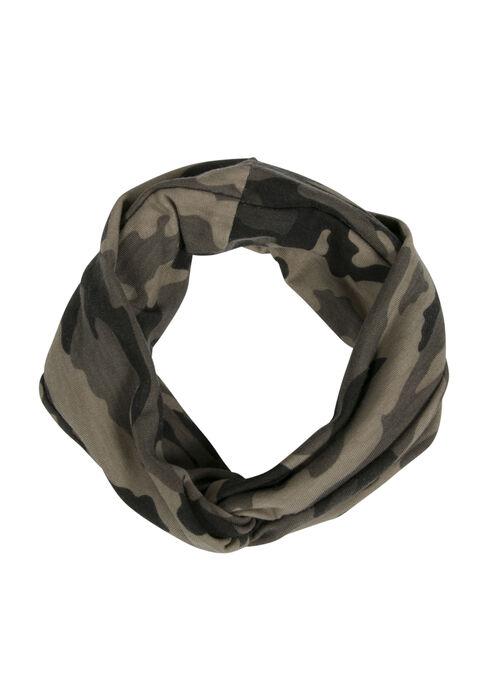 Ladies' Twisted Head Wrap, DARK OLIVE, hi-res