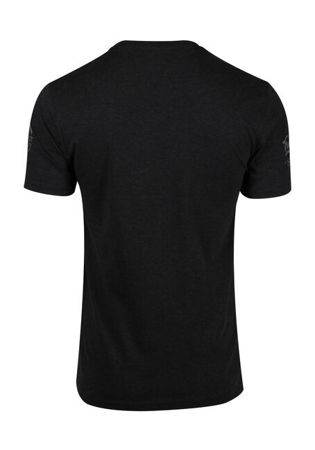 Men's True North Tee, BLACK, hi-res