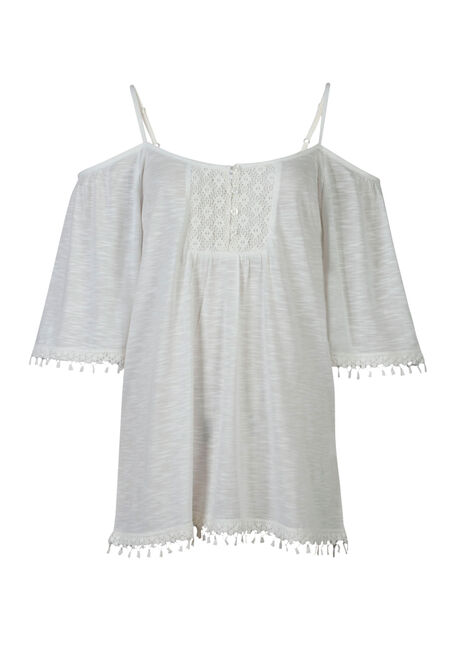 Ladies' Cold Shoulder Top