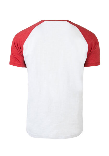 Men's Canada 150 Baseball Tee, WHITE, hi-res
