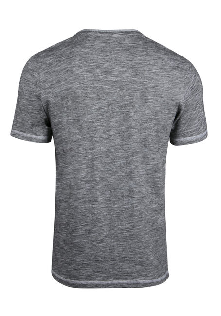 Men's Everyday Y-neck Tee, WHITE, hi-res