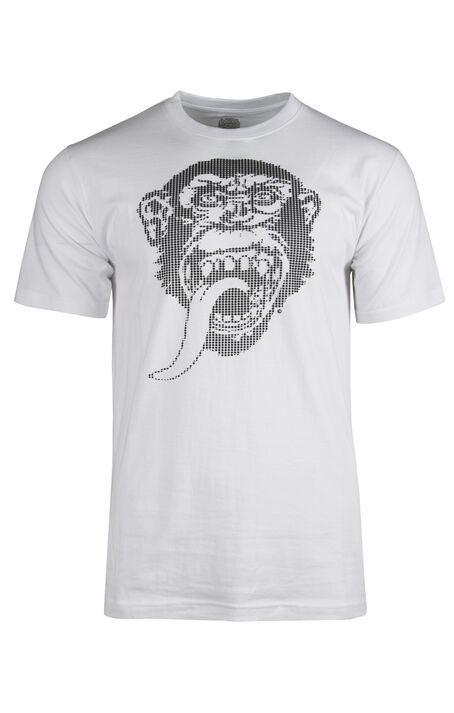 Men's Gas Monkey Textured Print Tee