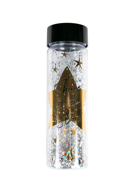 Cylinder Star Water Bottle