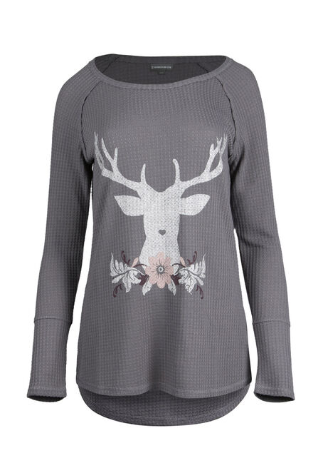 Ladies' Reindeer Top
