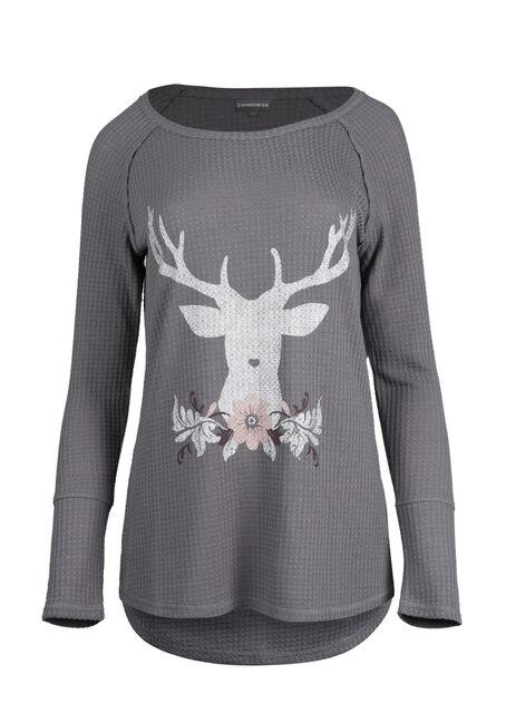 Ladies' Reindeer Top