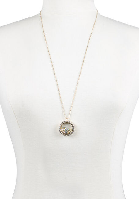 Ladies' Encased Rhinestones Necklace