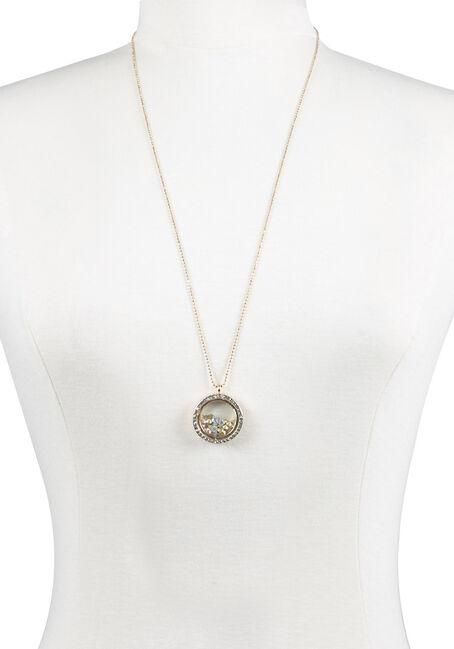 Ladies' Encased Rhinestones Necklace